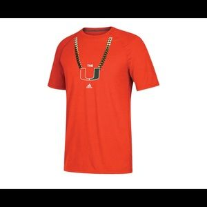 UM adidas Orange Miami Hurricanes 2x